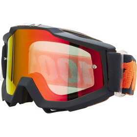 100% Accuri Anti Fog Mirror Goggles gunmetal